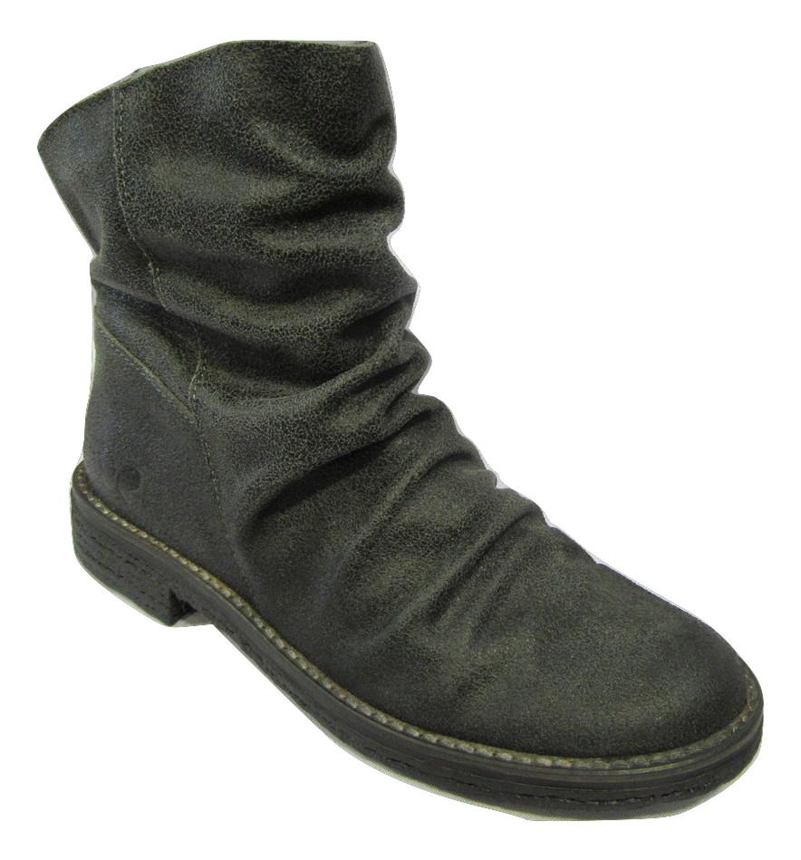 Boots FELMINI cuir retourné gris