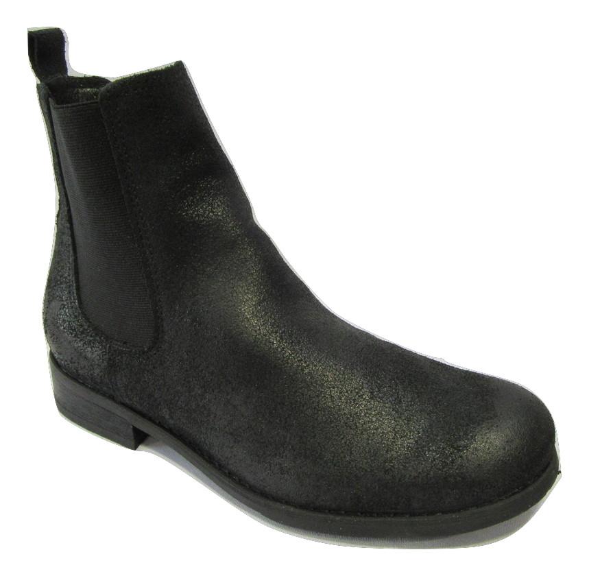 Boots cuir retourné FELMINI