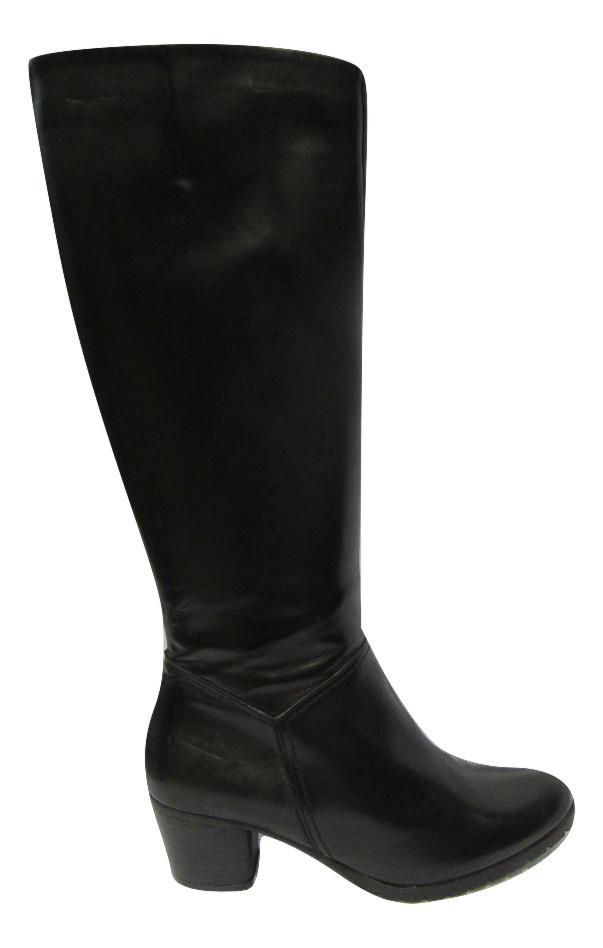 Bottes cuir noir MITICA