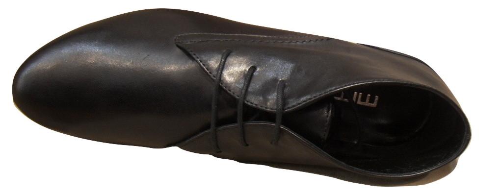Derbies montants MITICA cuir noir