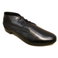 Derbies montants MITICA cuir noir