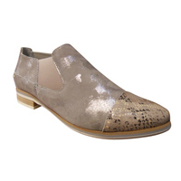 Mocassin/loafer cuir gris MITICA confort