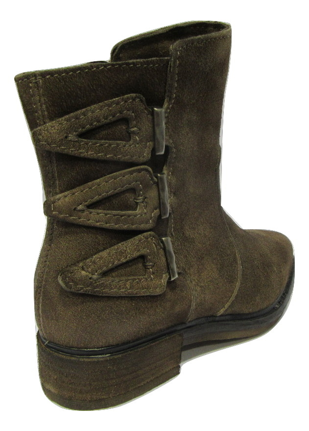 Boots MJUS daim marron