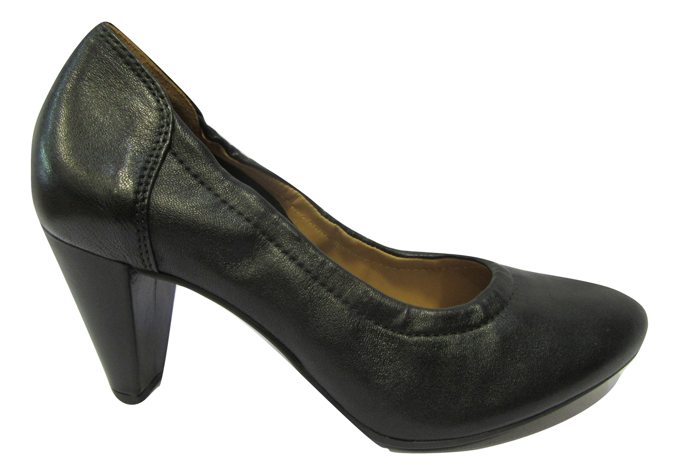 escarpins hogl confort cuir noir escarpins chaussures pour. Black Bedroom Furniture Sets. Home Design Ideas