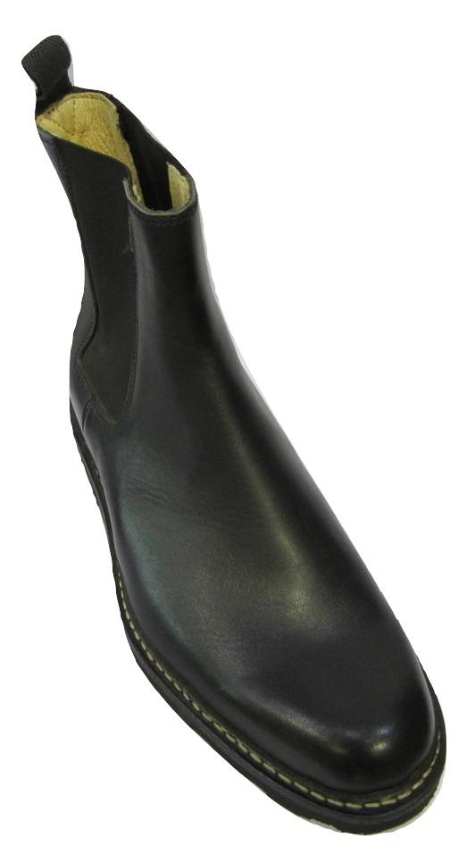 Boots élastique homme PARABOOT ARTEM cuir noir