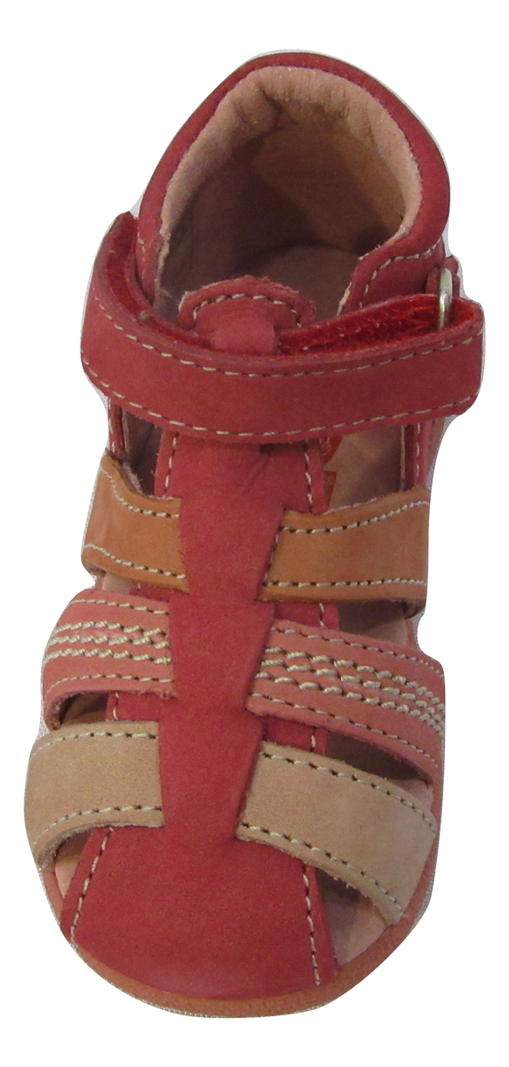 Sandale premiers pas KICKERS fille cuir rose