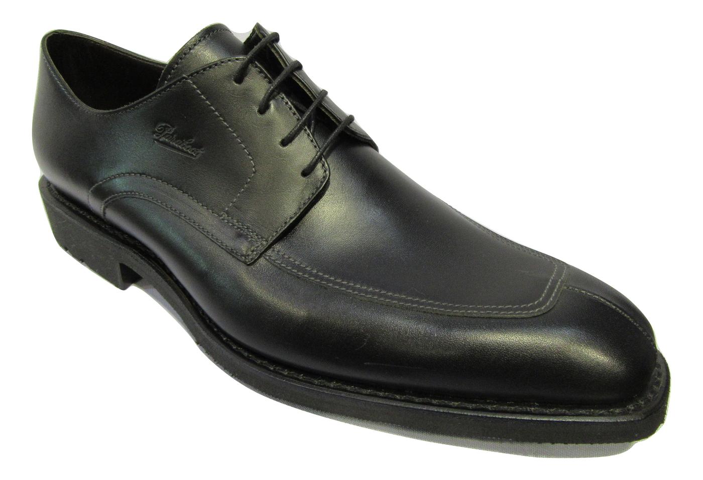 Derbies PARABOOT homme cuir noir habillé