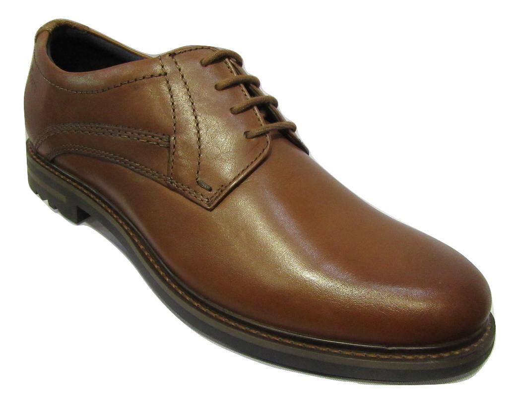 chaussure ville lacets homme sioux cuir marron clair. Black Bedroom Furniture Sets. Home Design Ideas