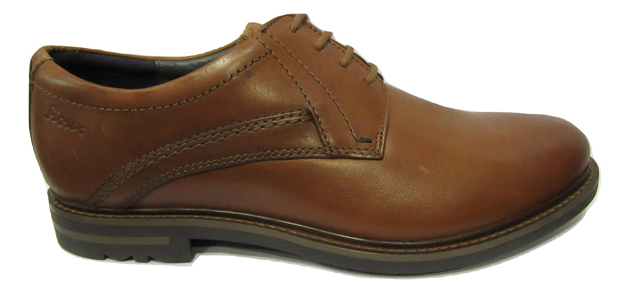 Chaussure ville lacets homme SIOUX cuir marron clair confort