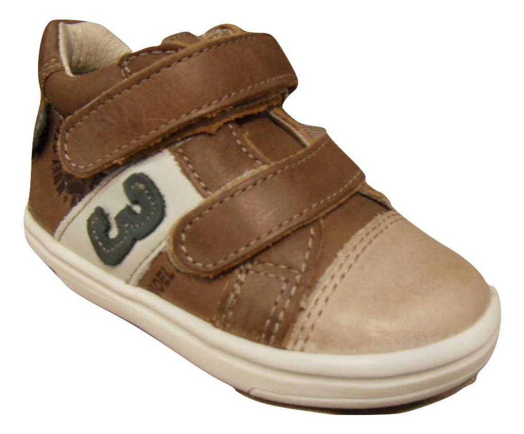 Basket Enfants Chaussures Noel Cuir Montantes Chaussure Garçons Marron 54j3AqRcSL