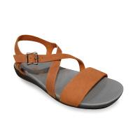 Sandale/Nu-pied ARCUS cuir marron confort