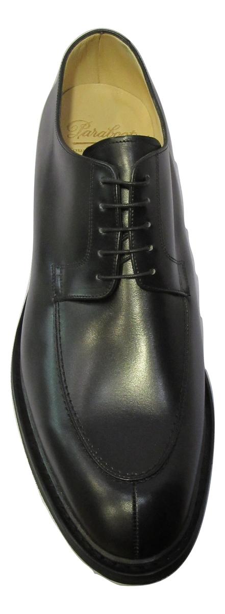 Derbies PARABOOT homme cuir noir habillé/ville