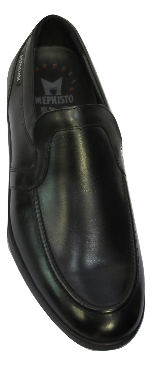 Chaussure confort homme MEPHISTO mocassin cuir noir