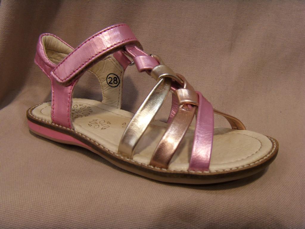 Nu-pied/Sandale fille NOEL cuir