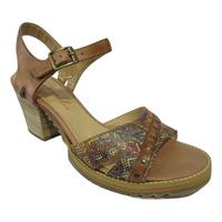 Sandales/Nu pied LIBRE COMME L AIR cuir marron