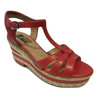 Sandales compensées MAM ZELLE rouge