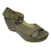 Sandale/nu-pied KHRIO cuir gris