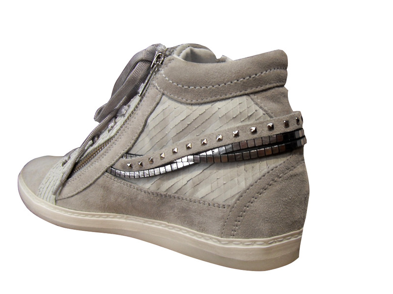 basket ville montante khrio compens e baskets montantes baskets chaussures pour femmes femmes. Black Bedroom Furniture Sets. Home Design Ideas