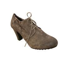 Low boots lacets HOGL cuir daim gris moderne/confort