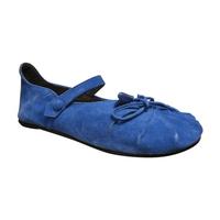 Ballerines femme/fille BILL TORNADE velours bleu mode
