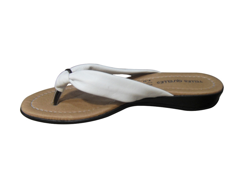tong femme cuir telles qu 39 elles blanc tongs sandales nu. Black Bedroom Furniture Sets. Home Design Ideas