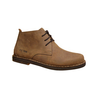 Derbies montants HUSH PUPPIES cuir marron