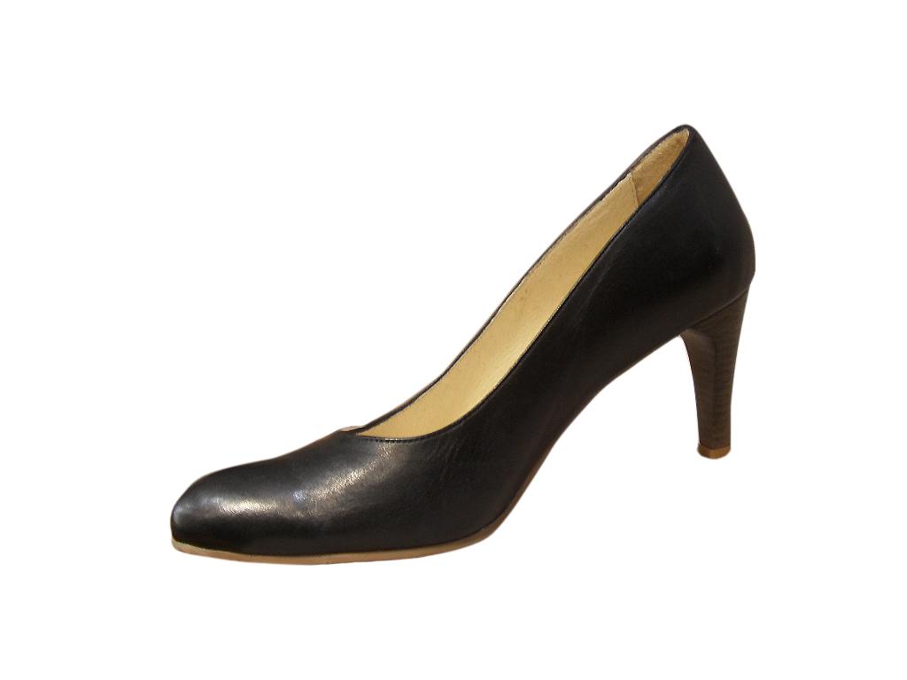 Escarpins femme LIBRE COMME AIR cuir noir talon
