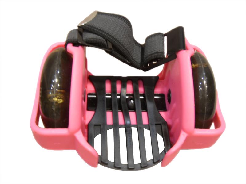 ROLLER FLASHING roues adaptables clignotantes bleues /cadeau enfant