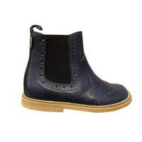Boots enfants FRODDO cuir bleu