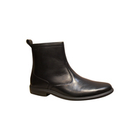 Bottines homme SLEDGERS en cuir noir