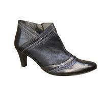 Low boots UN TOUR EN VILLE cuir bleu