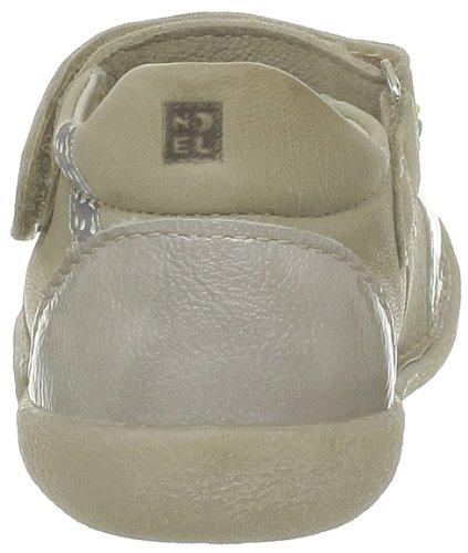 Babies basses fille NOEL cuir beige