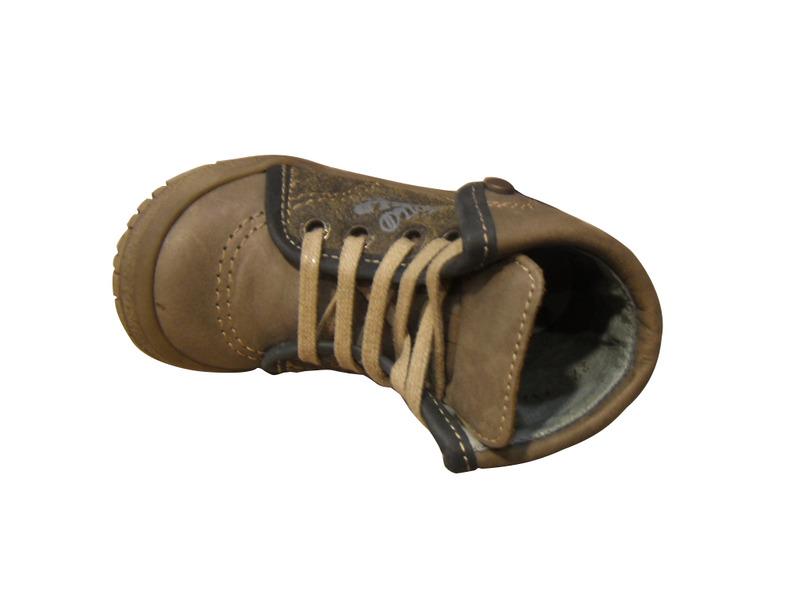 Chaussures enfants NOEL cuir montantes