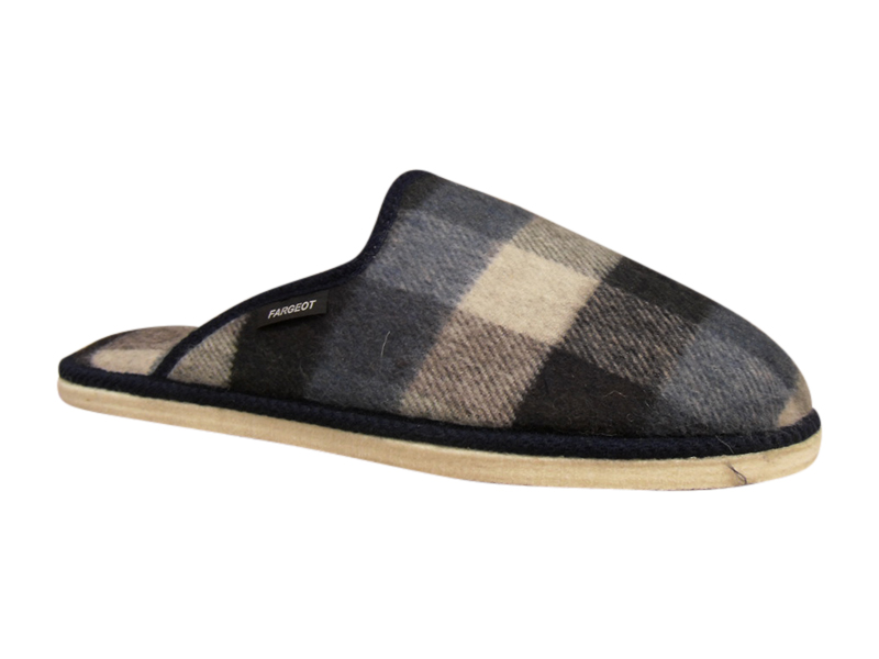 pantoufle chausson mule homme four semelle feutre chaussons boots et bottes chaussures pour. Black Bedroom Furniture Sets. Home Design Ideas