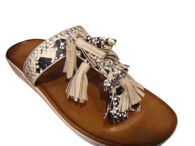 tong femme plus en cuir beige noir tongs sandales nu pieds chaussures pour femmes femmes pour. Black Bedroom Furniture Sets. Home Design Ideas