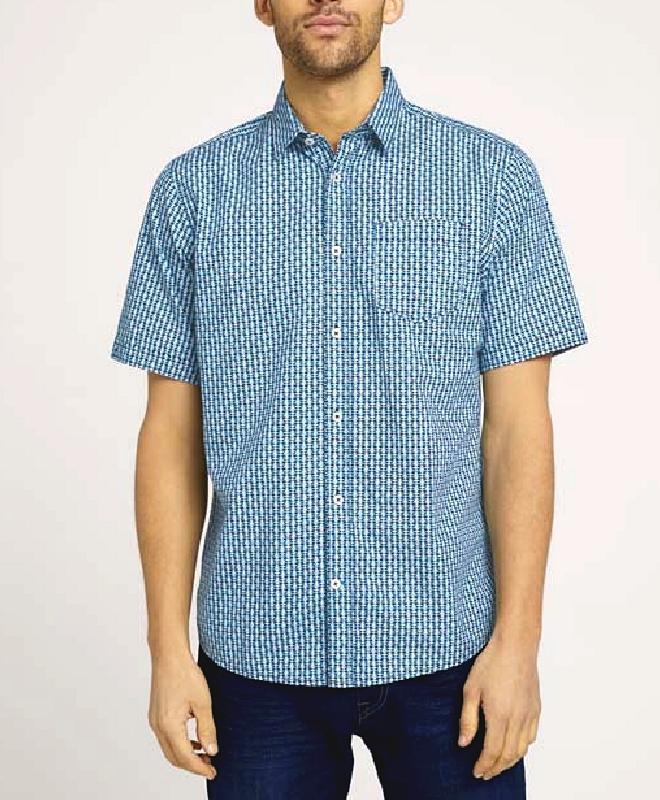 Chemise Tom Tailor  Homme saison/été  bleu