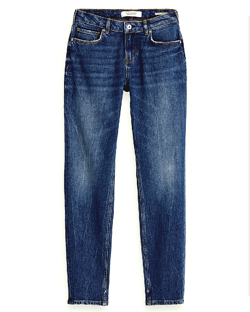Le Keeper jean denim mid rise Femme Scotch & Soda blue été