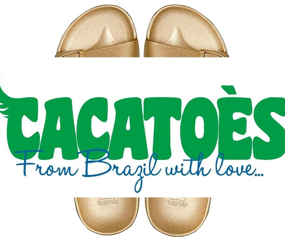 CACATOES Sandale femme Gold saison été (pvc recyclé)