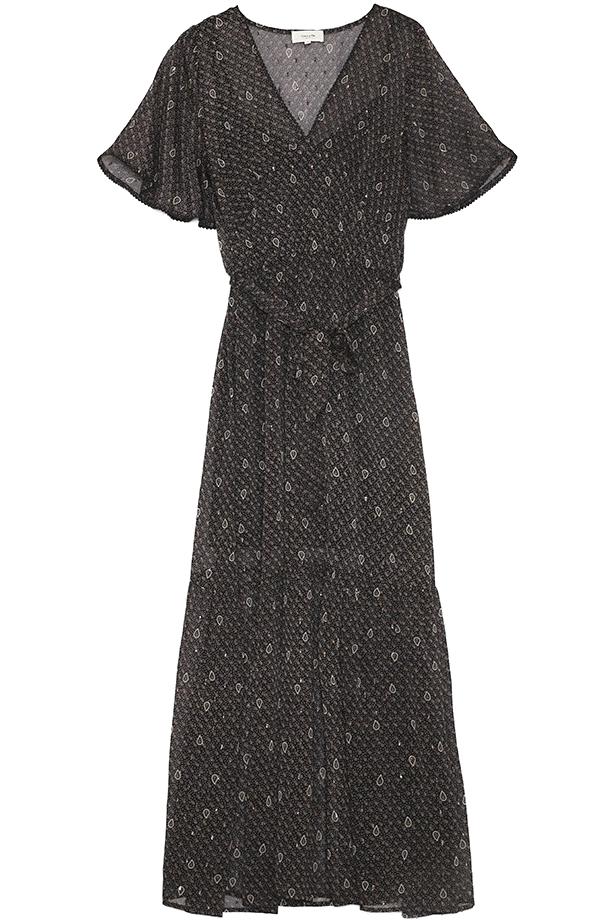 Robe longue doublée manches courtesde     mINI pRIX
