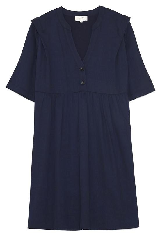 Robe courte manches courtes  de Grace & Mila     mINIpRIX