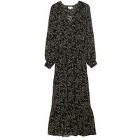 robe longue imprimée avec décolleté surplis de Grâce & Mila