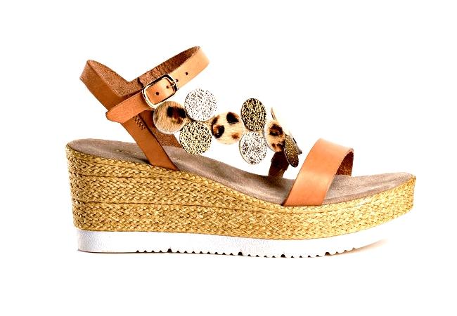Sandale compensée de REQINS pour la femme (été2020)