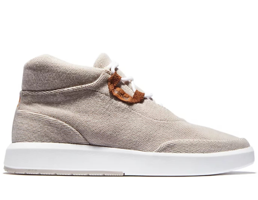 Timberland Sneakers haute cuir (gris) homme -15% sur 1er achat
