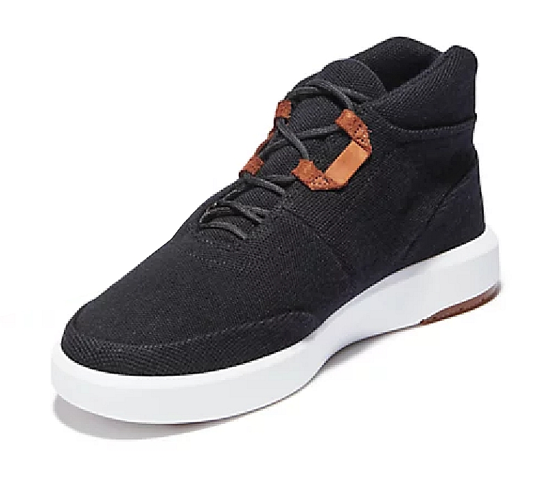 Timberland Sneakers haute cuir (Black) homme -15% 1er achat