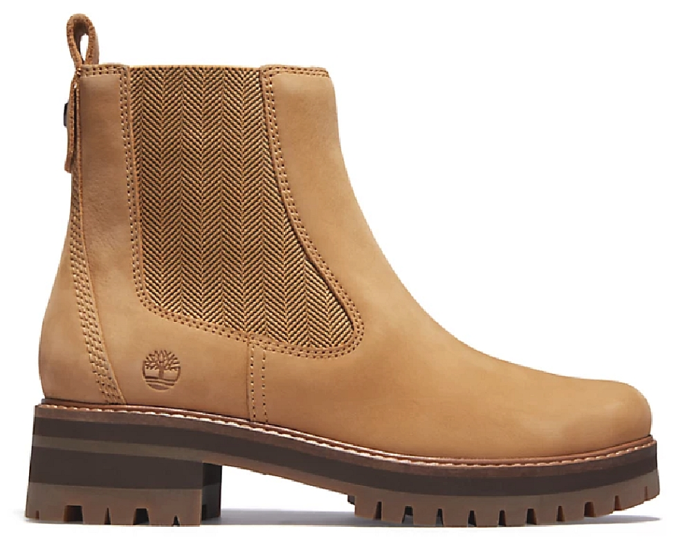 Timberland Boots cuir (yellow) Femme -15% sur 1er achat
