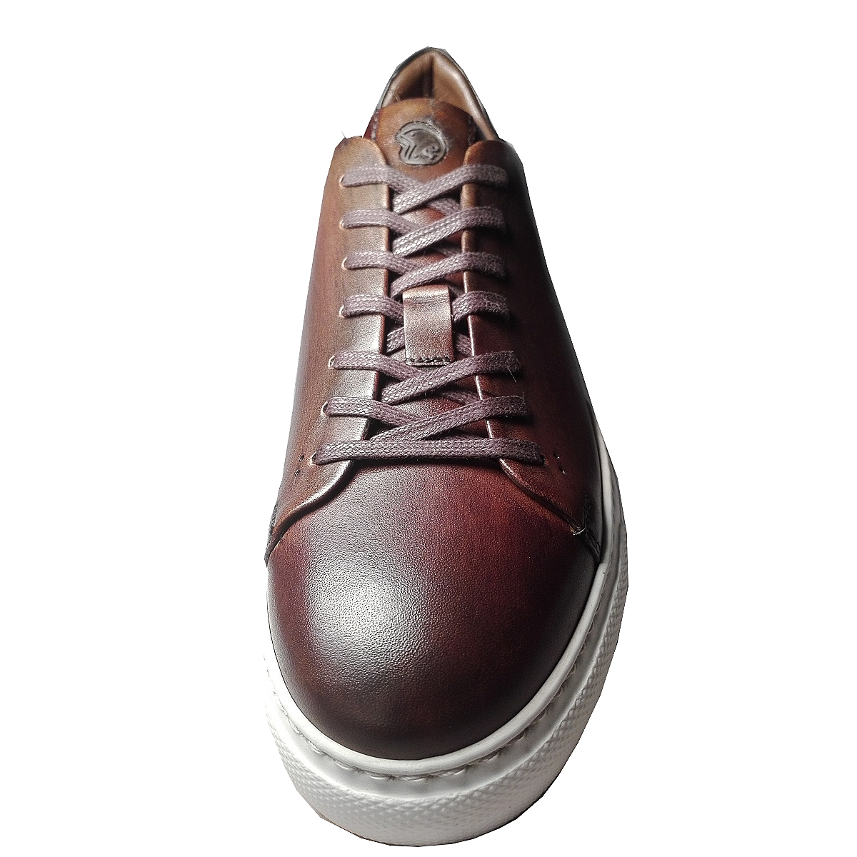 Tennis Sneaker Choco, en cuir de Benson & Cherry    NEW