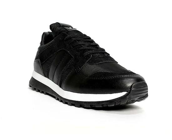 Sneakers basse Homme par Benson couleur Noire 40/45
