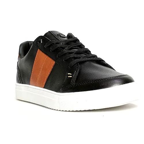 Sneakers basse Homme par Benson  Noire 40/45