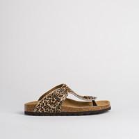 Nu pieds anatomique de Reqins pour femme (beige)
