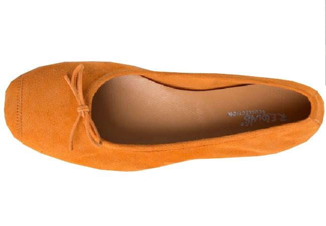 Ballerine Femme Intemporel  printemps/été 2020 orange
